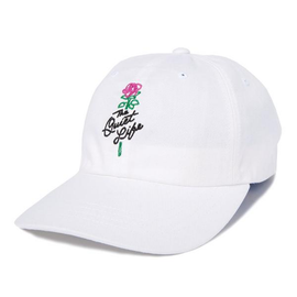 ROSE DAD HAT WHITE