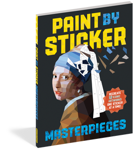Paint By Sticker Kids: Masterpieces