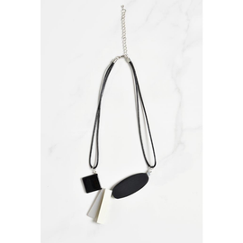 CUBOID SHAPES NECKLACE