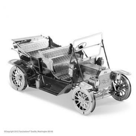 MetalEarth Silver Series - 1908 Ford Model T