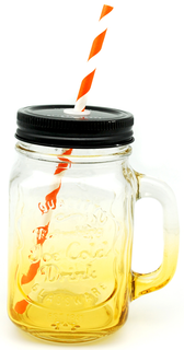 Mason Mug (Refreshing Ice Cold Drink)
