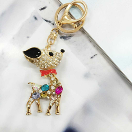 Winter Reindeer Bag Charm