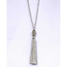 Buddha Tassle Necklace
