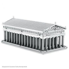 MetalEarth Silver Series - Parthenon