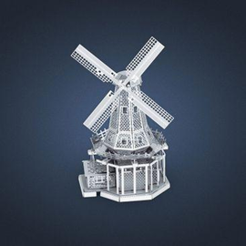 MetalEarth Silver Series - Windmill