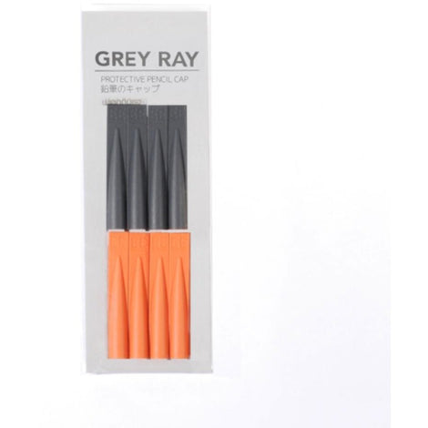 EE Defender Pencil Cap Set (Dark Grey & Orange)