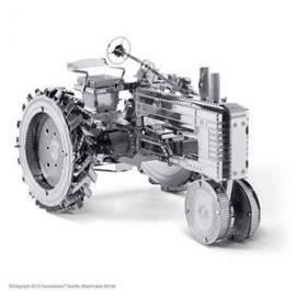 MetalEarth Silver Series - Farm Tractor