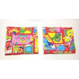 Sesame Street Cluster in Red Sanitary Pad Holder