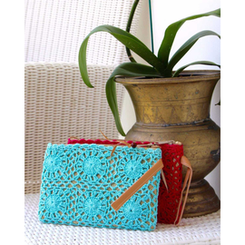 Crochet Make Up Bag
