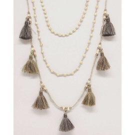 Multi Tassle Necklace
