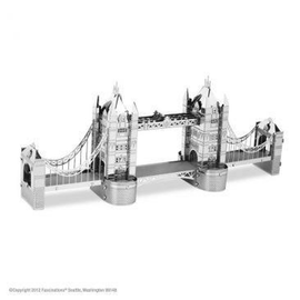 MetalEarth Silver Series - London Tower Bridge