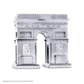 MetalEarth Silver Series - Arc De Triomphe