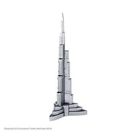 MetalEarth Silver Series - Burj Khalifa