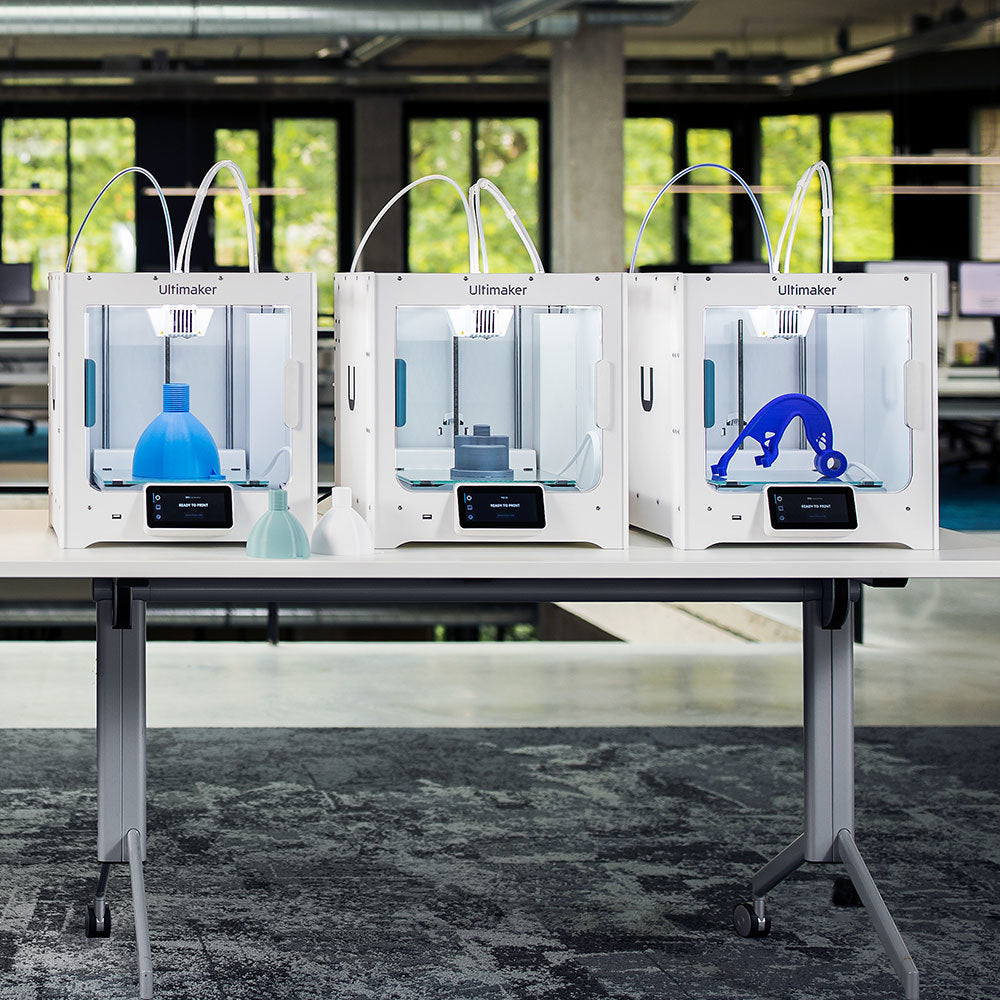 Ultimaker S3 the most cost effective way for disruptive businesses to adopt in-house 3D printing