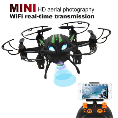 Mini RC Quadcopter 2.4GHz 4CH 6-Axis Gyro 3D UFO Drone FPV With WIFI Camera
