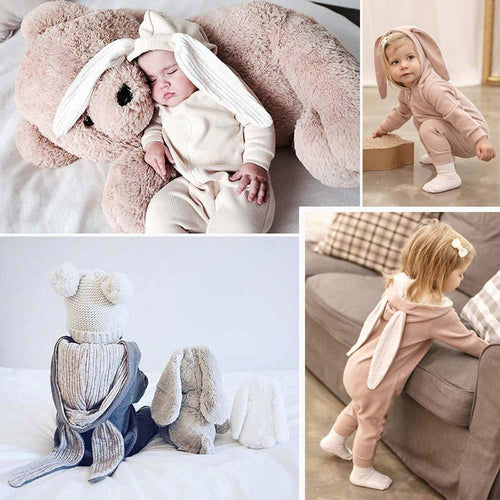 1-18 Months Newborn Baby Clothes Easter Christmas Baby Girl Romper Spring Toddler Boy Romper Fashion Newborn Boys Onesies - ShopeeShipee