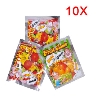 10pcs Funny  Fart Bomb Bags Stink Bomb Smelly Funny Gags Practical Jokes Fool Toy M09