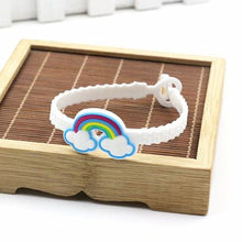 10pcs/lot Unicorn Party Rubber Bangle Bracelet Birthday Party Decorations Kids Party Favors Rainbow Unicorn Decor Party Supplies - ShopeeShipee