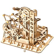 Wooden toy 3D hand-inserted puzzle gift mechanical transmission model