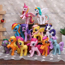 12Pcs Unicorn Party Cake Decoration PVC Micro Unicorn Landscape Model Eenhoorn Party Favors Birthday Party Decorations Kids.Q - ShopeeShipee