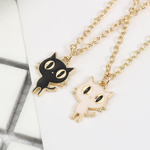 12pcs/lot Cartoon Stylish Luna Cat Alloy Necklace Hanging Accessories Birthday Festival Party Take home Favors Gifts - ShopeeShipee