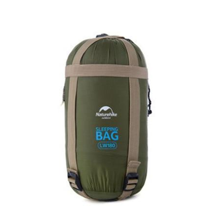 Spring and summer single mini sleeping bag adult outdoor four season tent camping supplies cotton sleeping bag