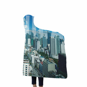 Manila - Custom Designed Hooded Blanket