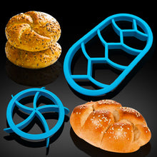 1PC Round Oval Classic bread Molds Fan Pastry Cutter Dough Cookie Press Bread Cake Biscuit Moulds Kitchen Pastry Baking Tools