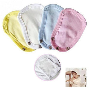 1PCS Baby Romper Crotch Extenter Child One Piece Bodysuit Extender Baby care 13*9cm 4 colors - ShopeeShipee
