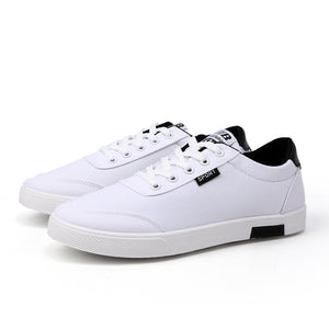 2018 Fashion Classic Men Canvas Shoes Trend Small White Shoes Breathable College Wind Casual Men's Shoes