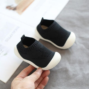 2019 Autumn Infant Toddler Shoes Baby Girls Boys Casual Shoes Soft Bottom Non-slip Comfortable Child Knitted First Walkers Shoes - ShopeeShipee