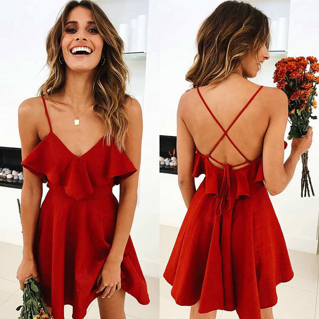 2019 Backless Tunic Beach Dress Bikini Long Dress Print Swimwear Women Cover Up Swimsuit Beachwear Pareo Saida de Praia