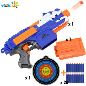 Electric Soft Bullet Toy Gun For Children Dart Suit for Nerf Darts Suit for Nerf Gun Bullet GunsSniper Rifle