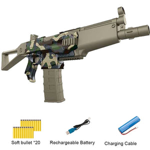 Outdoor Toy Rifle Kids Gift Dart Blaster Toy Gun Electric Burst Soft Bullet Gun Suit for Nerf bullets for boy