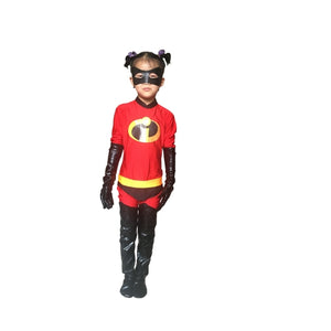 24 Hrs Shipped Out Kid and Adult The Incredibles Cosplay Costumes with Mask Family Fancy Lycra Bodysuits Jumpsuits - ShopeeShipee
