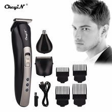 3 in 1 Rechargeable Shaver Hair Trimmer Rechargeable Electric Nose Hair Clipper Professional Beard Razor Haircut Cutting Machine - ShopeeShipee