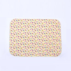 30*45cm Baby Reusable Mattress Waterproof Diapering Changing Pads Cotton Washable Newborn Mattress Baby Changing Mat