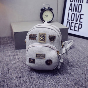 Spring bag women 2020 new version of Korean fashion tide badge, Mini Shoulder Bag vertical type square oblique cross packet