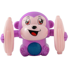 Electric tumbling monkey doll - ShopeeShipee