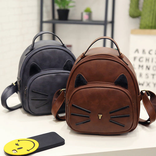 The Korean version of the fall of 2020 new backpack school bagbeard fashion female bag one generation