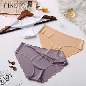 3Pcs/lot Seamless Panty Set Underwear Female Comfort Intimates Fashion Female Low-Rise Briefs 6 Colors Lingerie - ShopeeShipee