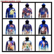3D Christmas Sweater - Mens Clothing / Outerwear & Jackets / Hoodies & Sweatshirts