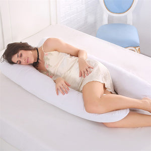 Pregnancy Pillow Full Body Pillow Maternity Body Pregnancy Sleeping Pillow Women Pregnant Side Sleeper Pillow Cases Home Decor