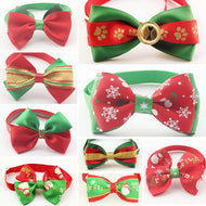 50 Pcs/Lot Armi store Handmade Christmas Dogs Festival Bow Ties Dog Tie 6011036 Pet Jewelry Accessories Wholesale