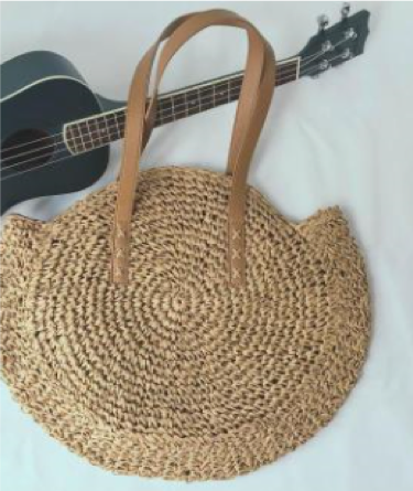 Rattan Shoulder Bag - ShopeeShipee