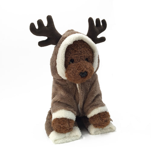 Elk Christmas Dog Clothes - ShopeeShipee