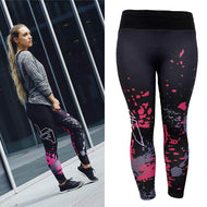 Women's High Waist Athletic Gym Workout Fitness Yoga Slim Leggings Pants