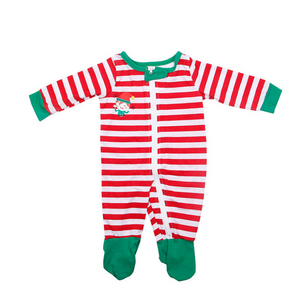Christmas parent-child suit STOP Elfing AROUND printed home service - ShopeeShipee