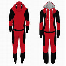 Adult Superhero Pijama Deadpool Costumes Man Pajamas Women Jumpsuits Cosplay Halloween Costumes for Women Christmas Party Outfit