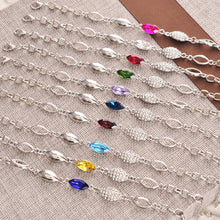 Angel Elf Earring Bracelet Necklace Jewelry Set Travel Wedding Inlaid Semi Precious Crystal Set 9 Color Optional